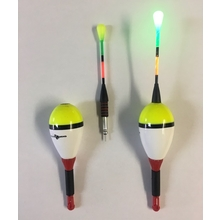 7/8 Oval Dual Function Light-up Balsa Float